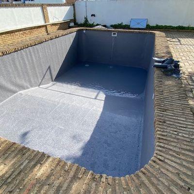 Reparación de LINER de piscina