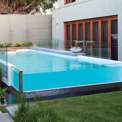 Ideas y fotos de piscina de cristal para inspirarte - Piscina de cristal ...