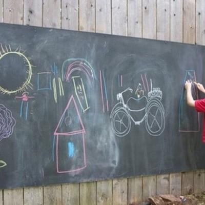 Ideas y fotos de reciclar para inspirarte habitissimo - Pizarra para pintar ...