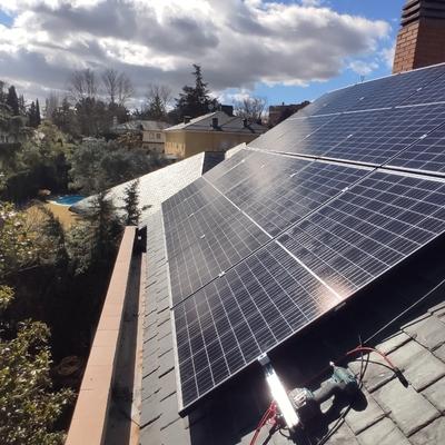 Instalacion fotovoltaica 3 kw