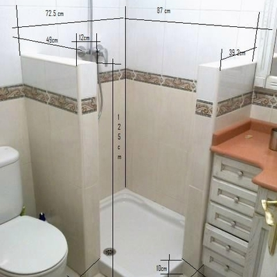 placho duña en baño reformado