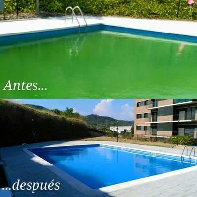 Recuperar  agua piscina