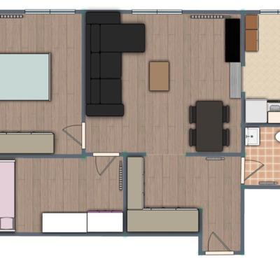 Reforma de apartamento abuhardillado