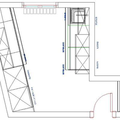 Planos de cocinas on planos de cocinas integrales fotos for Planos de cocinas modernas