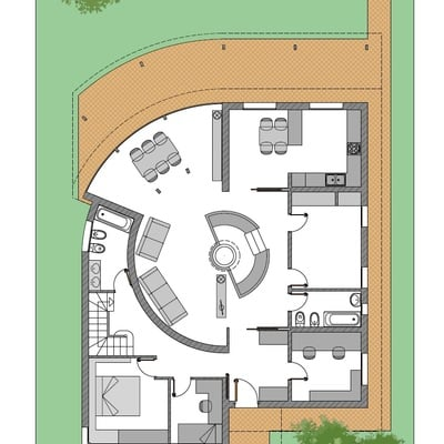Proyecto de Reforma y Ampliación de una vivienda en Bordils. Girona