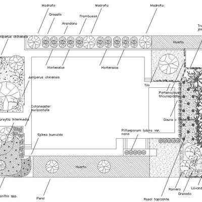 Diseño E Instalación De Jardín Rústico En Hita