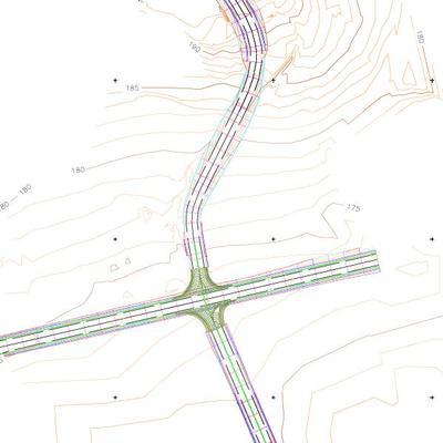 Modificación del acceso y la carretera a Severies(Llanera)