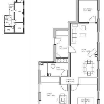 Reforma integral de vivienda basada en ideas de decoración modernas que optimizan el espacio