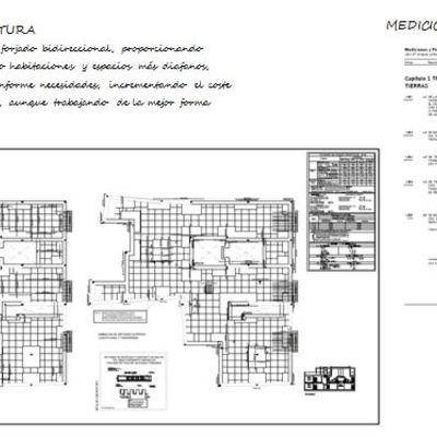 Planos estructurales de proyecto arquitectónico conjunto residencial 6 viviendas