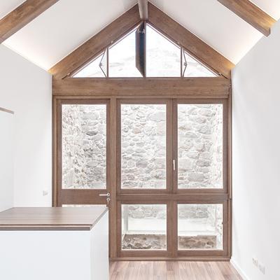 Rehabilitación de una vivienda en el casco histórico de Tui (Galicia)