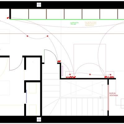 Nov. 20- Reforma de bajo cubierta con módulos de armario Ikea Pax