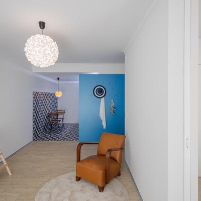 Una casa de 40 m² que nos traslada a los días de verano