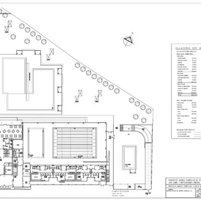 Colaboración en el desarrollo del proyecto básico y de ejecución de pisicina cubierta y al aire libre y edificaciones anexas.