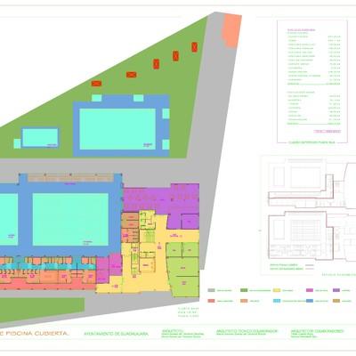Colaboración en el desarrollo del concurso para piscina cubierta.