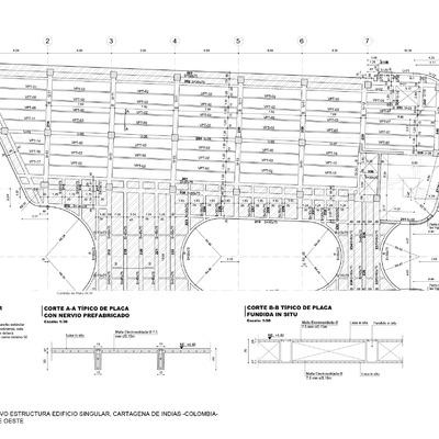 Proyecto Constructivo de Estructura de Edificio Singular, Cartagena de Indias, Colombia.