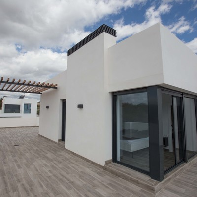 Proyecto de una vivienda mediterránea en La Nucía