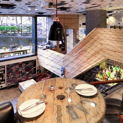 Diseño y construcción de reforma Restaurante La Gabinoteca