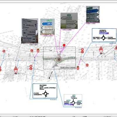 Planos de renovación de pavimentos públicos