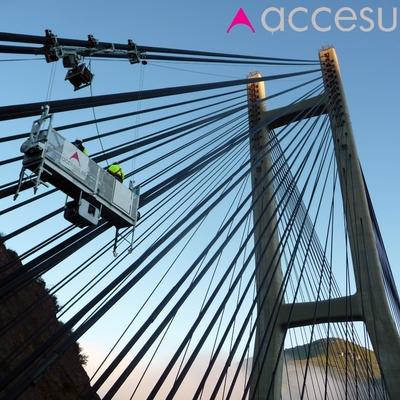 Plataforma Para Puente Atirantado