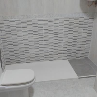 Cambio de bañera por plato de ducha antideslizante
