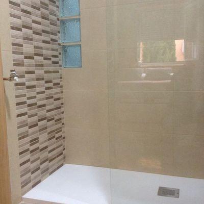 Plato de ducha antideslizante