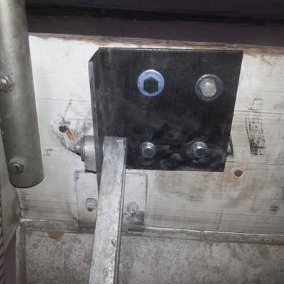 arreglo de escalera acceso tejado