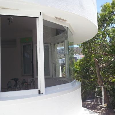 Ventana poligonal en PVC en Las Palmas