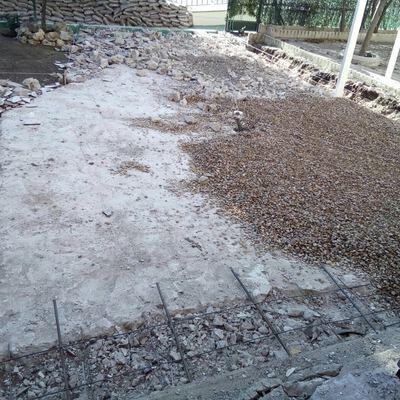 Preparación de suelo
