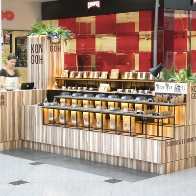 Pop-up store con guiños tradicionales