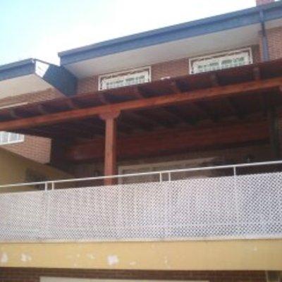 Decoración de exteriores con madera