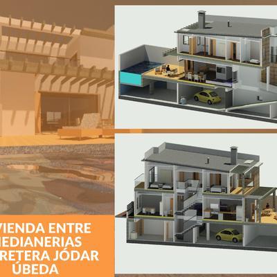 VIVIENDA ENTRE MEDIANERIAS CARRETERA JÓDAR (ÚBEDA)