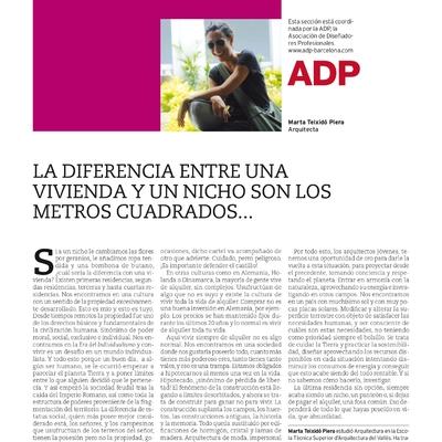 PUBLICACION ARTICULO REVISTA PROYECTO CONTRACT - ARQUITECTURA E INTERIORISMO