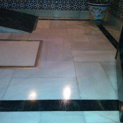 Abrillantado y vitrificado de suelos de mármol, Sevilla