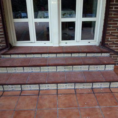 Impermeabilización de escalera con poliuretano