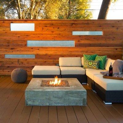 Chimeneas de exterior en el jardín para añadir un plus de confort y calidez