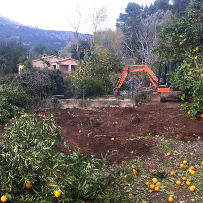 Construcción piscina 8x4