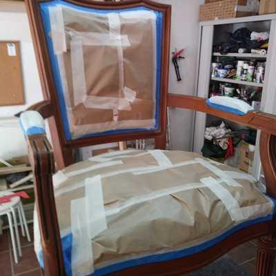 Lacado silla