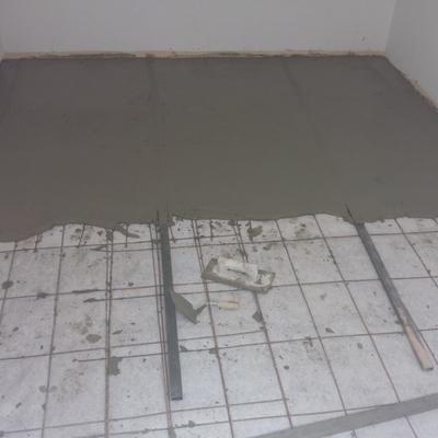 Instalación de pavimento