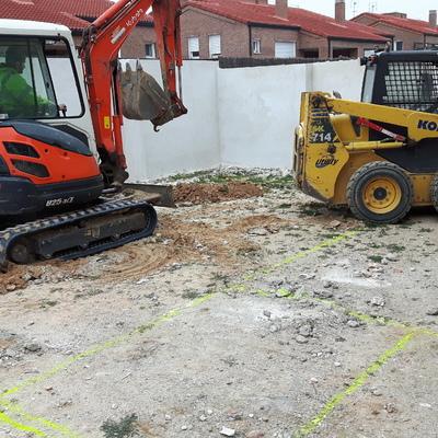Construcción piscina gunitada