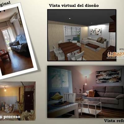 De una reforma a un cambio de ver la vida, en un apartamento de Villa Vallecas