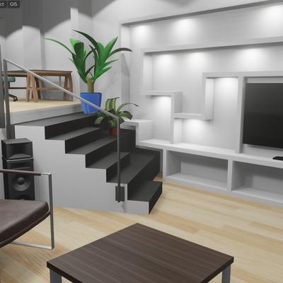 Diseño e instalación de sistema eléctrico, domótico e iluminación de local a vivienda.