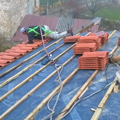 Instalación de tejado nuevo