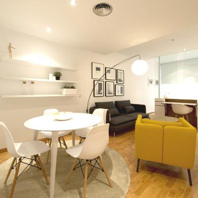 Casa D73: un luminoso y estiloso estudio