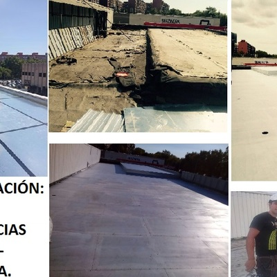 Impermeabilizacion de Cubierta - Barcelona