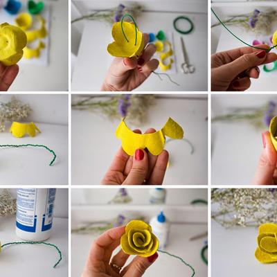 Proceso elaboración flor