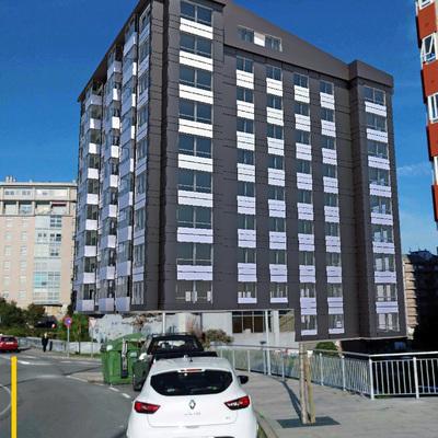 Propuesta Reforma fachada en Vigo