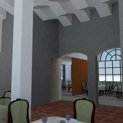 Propuesta de adecuación de local para restaurante en Chiclana