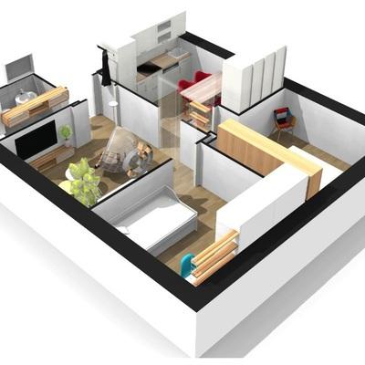 Reforma integral de piso A&D