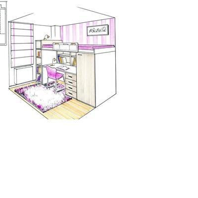 Dormitorios-estudio.
