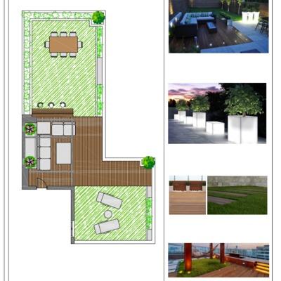 Proyecto de decoracion de terraza